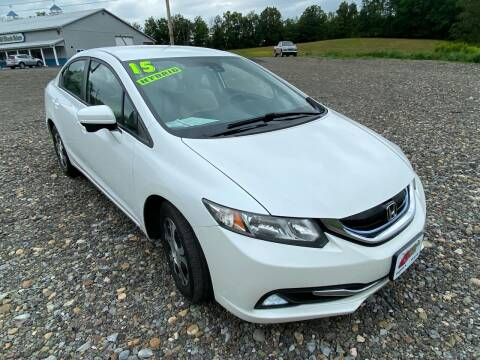 2015 Honda Civic for sale at ALL WHEELS DRIVEN in Wellsboro PA