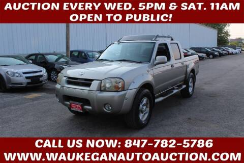 2001 Nissan Frontier for sale at Waukegan Auto Auction in Waukegan IL