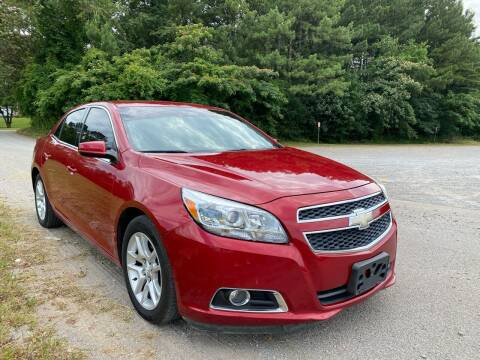 2013 Chevrolet Malibu for sale at Tennessee Valley Wholesale Autos LLC in Huntsville AL
