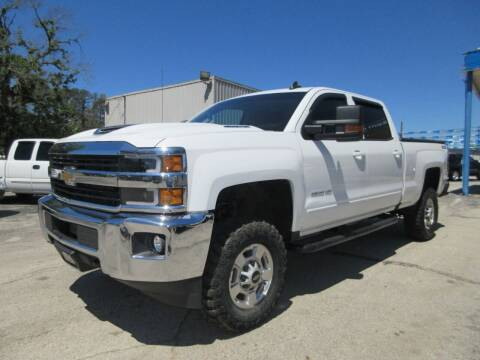 2017 Chevrolet Silverado 2500HD for sale at Quality Investments in Tyler TX
