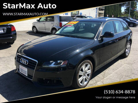 2009 Audi A4 for sale at StarMax Auto in Fremont CA