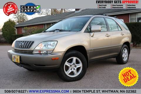 2003 Lexus RX 300 for sale at Auto Sales Express in Whitman MA