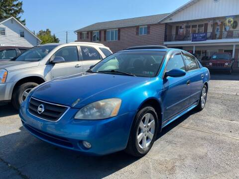 2003 Nissan Altima for sale at Rine's Auto Sales in Mifflinburg PA