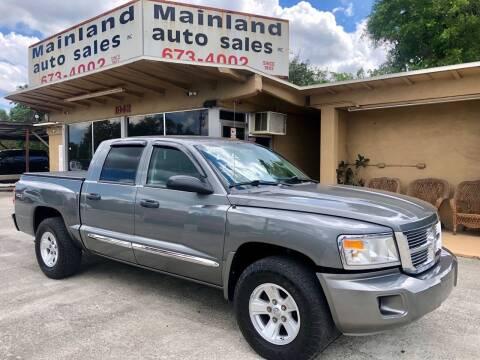 2008 Dodge Dakota for sale at Mainland Auto Sales Inc in Daytona Beach FL