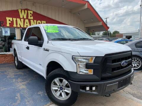 2015 Ford F-150 for sale at Caspian Auto Sales in Oklahoma City OK