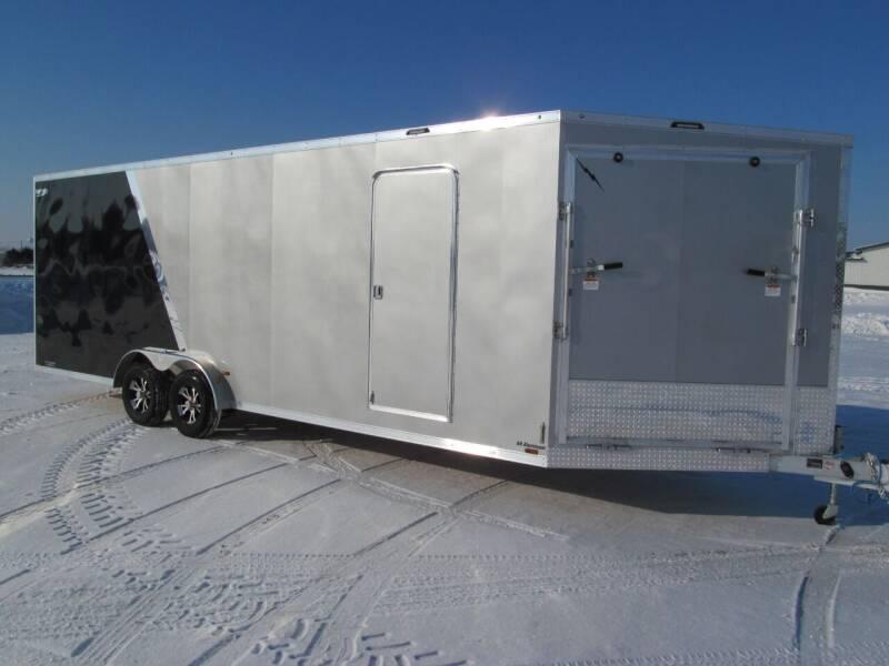 2021 LIGHTNING 7.5 X 29 SNOW TRAILER for sale at Flaherty's Hi-Tech Motorwerks in Albert Lea MN