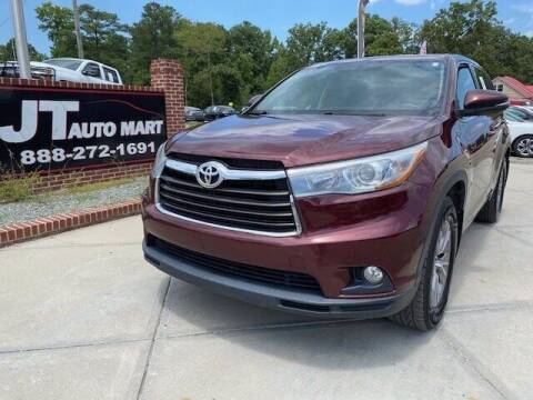 2015 Toyota Highlander for sale at J T Auto Group in Sanford NC