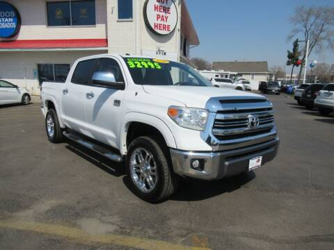 2016 Toyota Tundra for sale at Auto Land Inc in Crest Hill IL