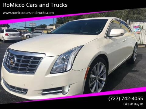 2013 Cadillac XTS for sale at RoMicco Cars and Trucks in Tampa FL