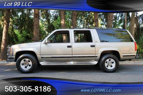 1999 GMC Suburban for sale at LOT 99 LLC in Milwaukie OR
