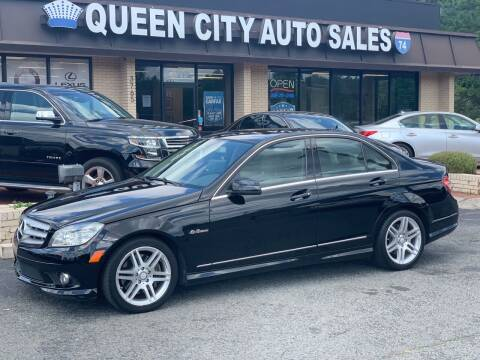 2010 Mercedes-Benz C-Class for sale at Queen City Auto Sales in Charlotte NC