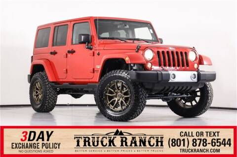 2014 Jeep Wrangler Unlimited for sale at Truck Ranch in American Fork UT