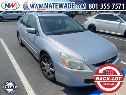 2004 Honda Accord for sale at NATE WADE SUBARU in Salt Lake City UT