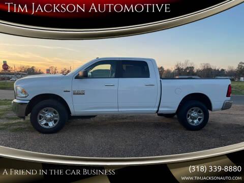 2018 RAM Ram Pickup 2500 for sale at Auto Group South - Tim Jackson Automotive in Jonesville LA