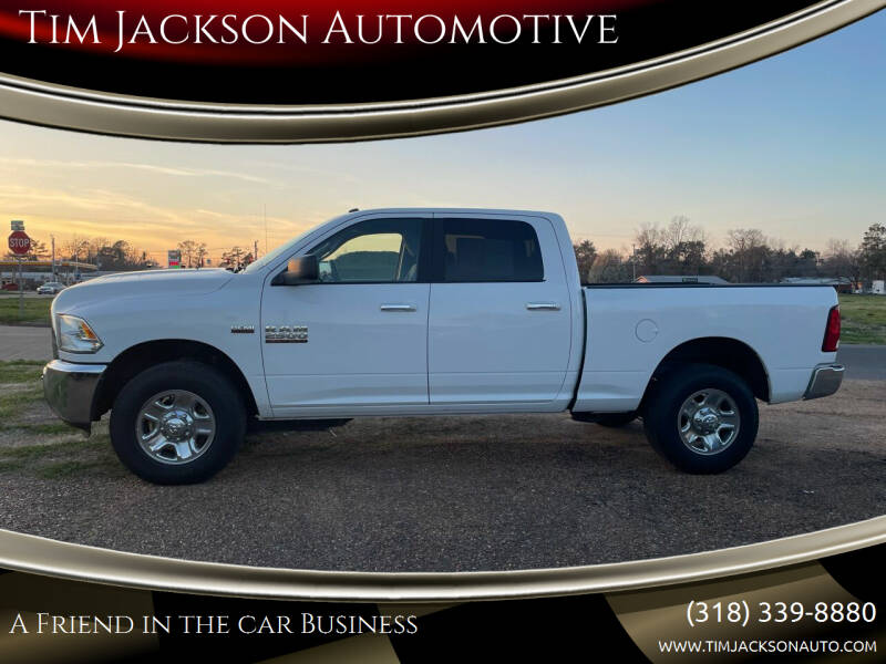 2018 RAM Ram Pickup 2500 for sale at Tim Jackson Automotive in Jonesville LA