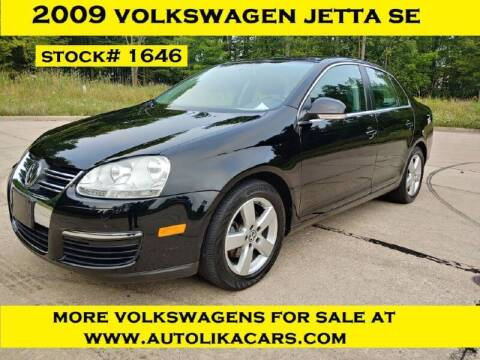 2009 Volkswagen Jetta for sale at Autolika Cars LLC in North Royalton OH
