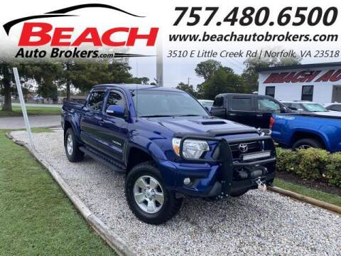 2014 Toyota Tacoma for sale at Beach Auto Brokers in Norfolk VA