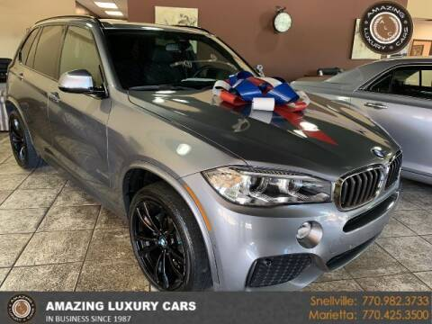 2018 BMW X5 for sale at Amazing Luxury Cars in Snellville GA