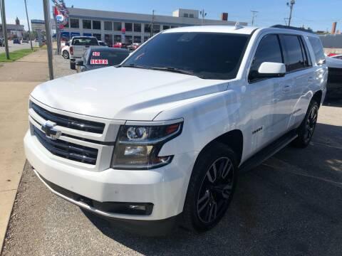 2015 Chevrolet Tahoe for sale at Kramer Motor Co INC in Shelbyville IN