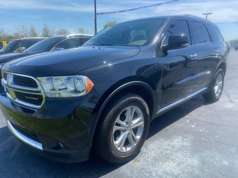 2013 Dodge Durango for sale at EAGLE ONE AUTO SALES in Leesburg OH