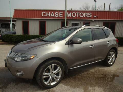 2010 Nissan Murano for sale at Chase Motors Inc in Stafford TX