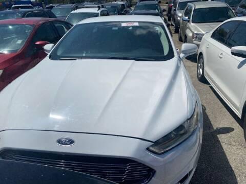 2013 Ford Fusion for sale at America Auto Wholesale Inc in Miami FL