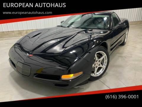 2000 Chevrolet Corvette for sale at EUROPEAN AUTOHAUS in Holland MI
