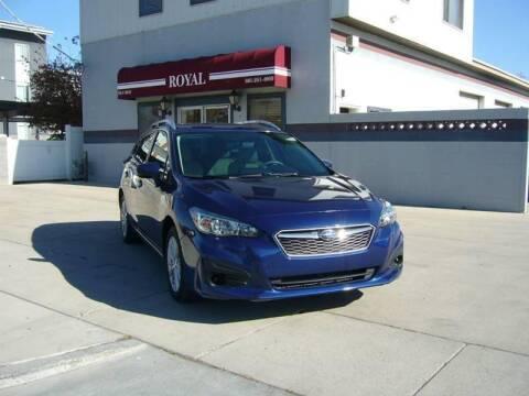 2018 Subaru Impreza for sale at Royal Auto Inc in Murray UT