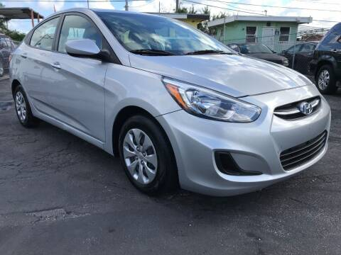 2017 Hyundai Accent for sale at MIAMI AUTO LIQUIDATORS in Miami FL