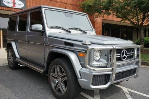2015 Mercedes-Benz G-Class for sale at Team One Motorcars, LLC in Marietta GA