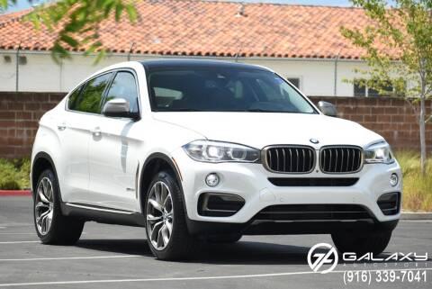 2016 BMW X6 for sale at Galaxy Autosport in Sacramento CA