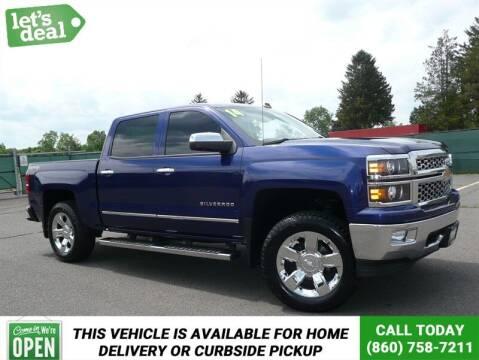2014 Chevrolet Silverado 1500 for sale at Shamrock Motors in East Windsor CT