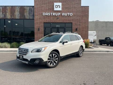 2016 Subaru Outback for sale at Dastrup Auto in Lindon UT