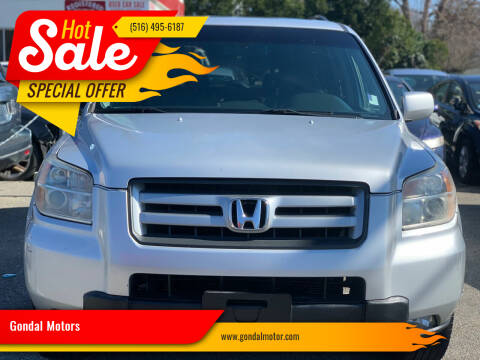 2008 Honda Pilot for sale at Gondal Motors in West Hempstead NY