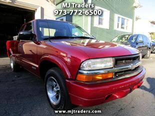 2001 Chevrolet S-10 for sale at M J Traders Ltd. in Garfield NJ