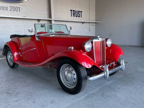 1952 MG TD for sale at TANQUE VERDE MOTORS in Tucson AZ