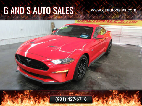 2018 Ford Mustang for sale at G and S Auto Sales in Ardmore TN
