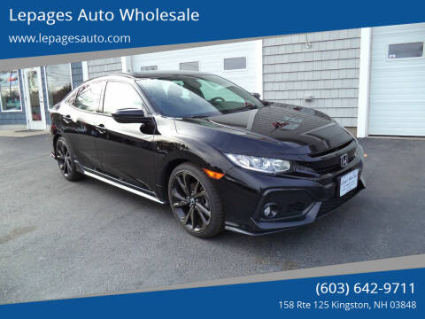 2018 Honda Civic for sale at Lepages Auto Wholesale in Kingston NH