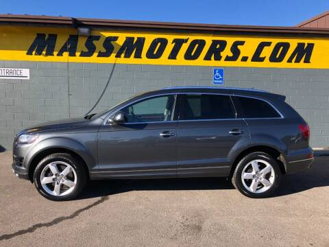 2013 Audi Q7 for sale at M.A.S.S. Motors - Fairview in Boise ID
