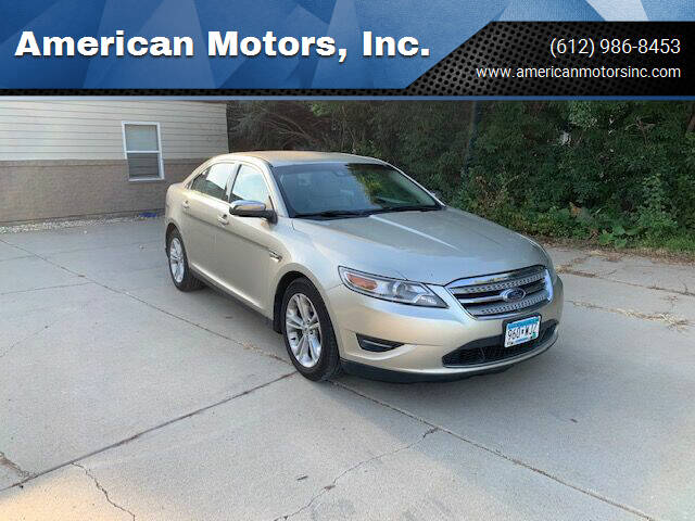2010 Ford Taurus for sale at American Motors, Inc. in Farmington MN