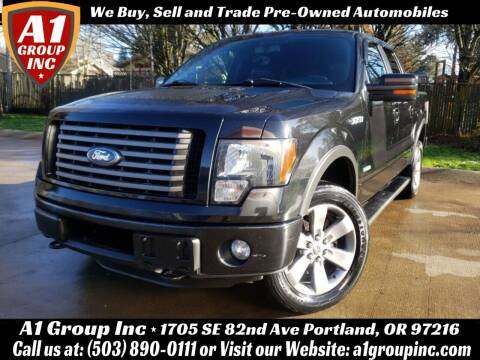 2012 Ford F-150 for sale at A1 Group Inc in Portland OR