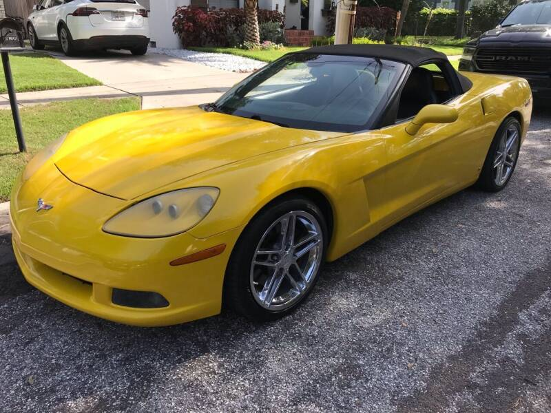 2006 Chevrolet Corvette for sale at Florida Coach Trader Inc in Tampa FL