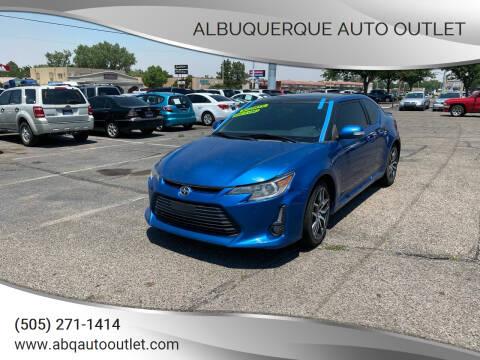2015 Scion tC for sale at ALBUQUERQUE AUTO OUTLET in Albuquerque NM