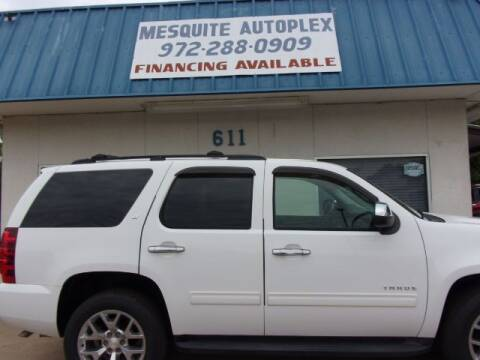 2008 Chevrolet Tahoe for sale at MESQUITE AUTOPLEX in Mesquite TX