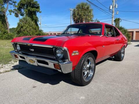 1971 Chevrolet Nova for sale at American Classics Autotrader LLC in Pompano Beach FL