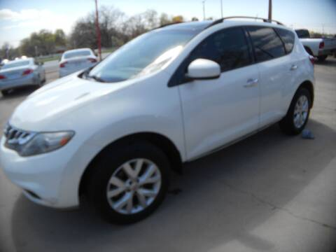 2014 Nissan Murano for sale at CARDEPOT in Fort Worth TX