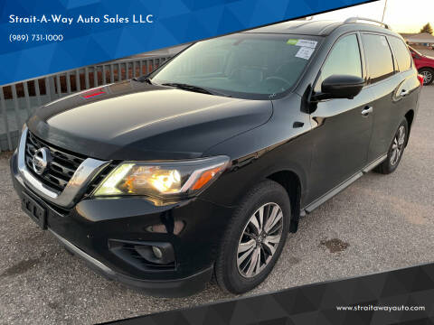 2017 Nissan Pathfinder for sale at Strait-A-Way Auto Sales LLC in Gaylord MI