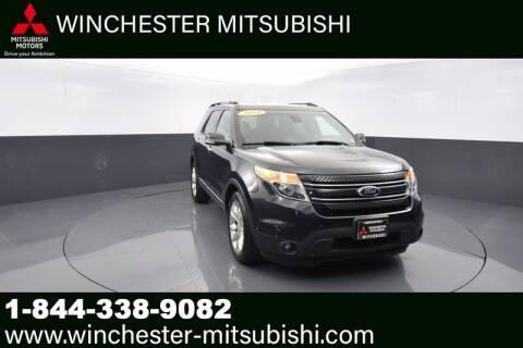 2014 Ford Explorer for sale at Winchester Mitsubishi in Winchester VA