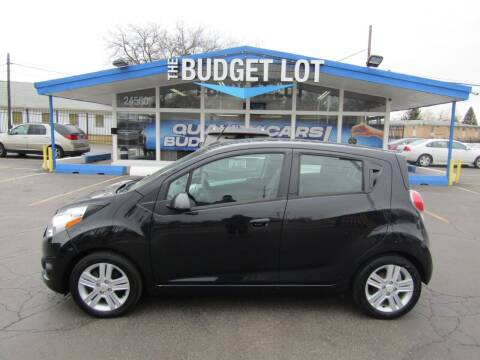 2014 Chevrolet Spark for sale at THE BUDGET LOT in Detroit MI