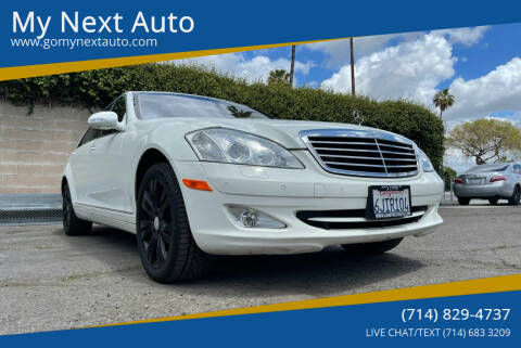 2009 Mercedes-Benz S-Class for sale at My Next Auto in Anaheim CA